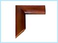 Rama obrazowa: drewno 5cm bejc brąz